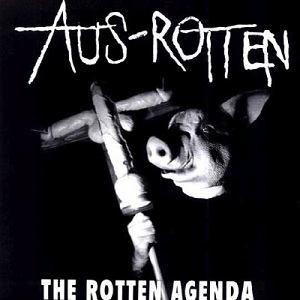 Aus Rotten - The Crucifix And The Flag